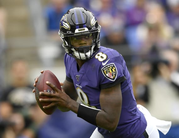 Lamar Jackson makes NFL history with huge day in win