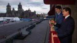 Peña Nieto y Trudeau afinan detalles sobre firma de