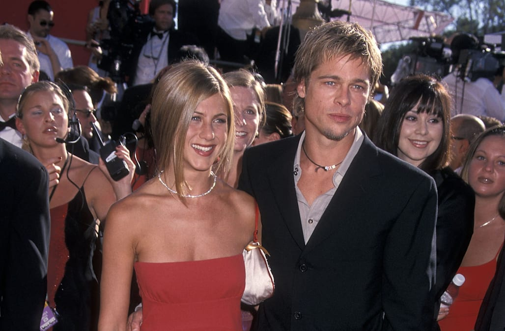 Image result for brad and jennifer aniston