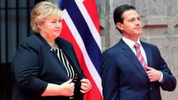Primera ministra de Noruega realiza visita oficial a