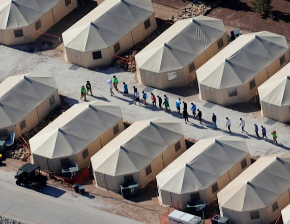 Migrant boy runs away from Texas facility to Mexico