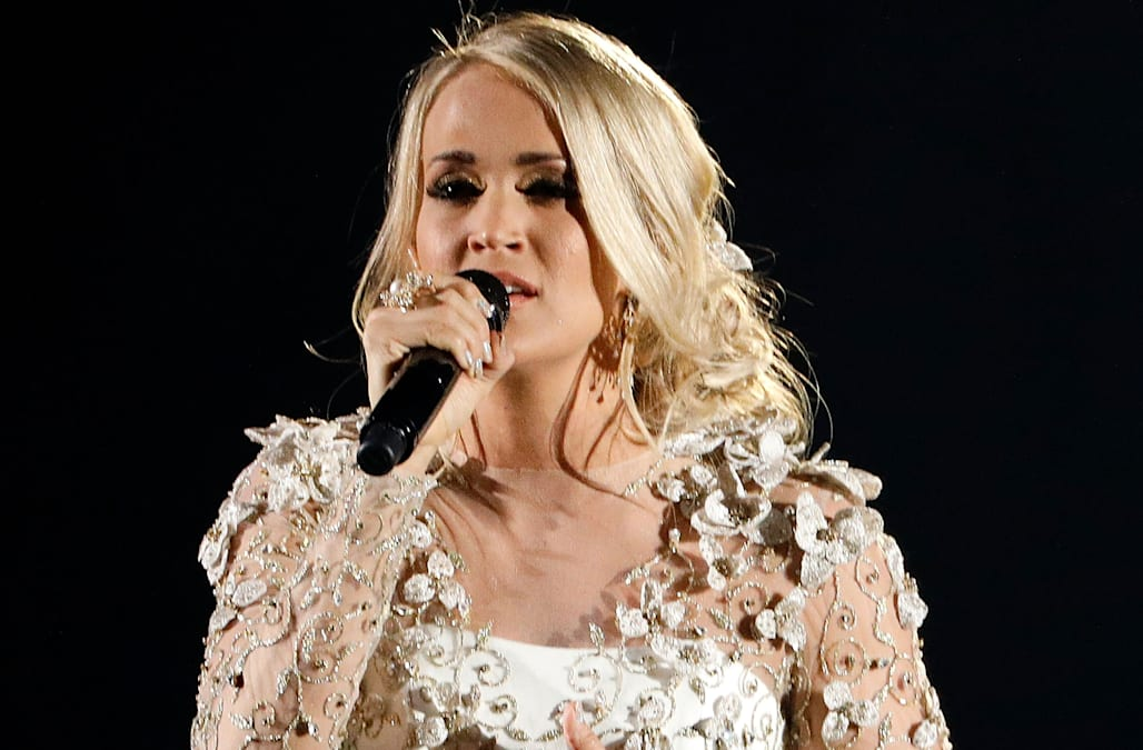 Carrie underwood breaks her silence on 39 hard fall 39 down Carrie underwood softly and tenderly
