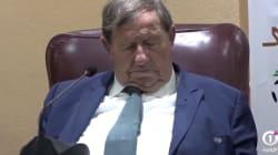 Guy Roux s'endort en pleine conférence de presse, et ce n'est pas la première