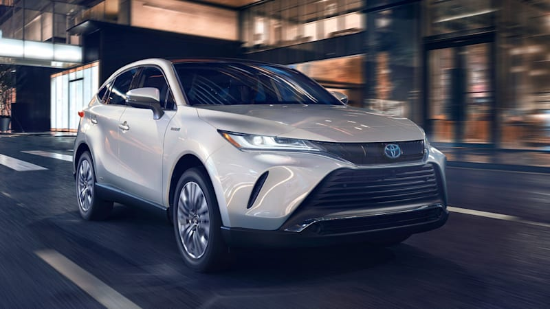 2021 Toyota Venza debuts as a hybrid-only high-fashion crossover