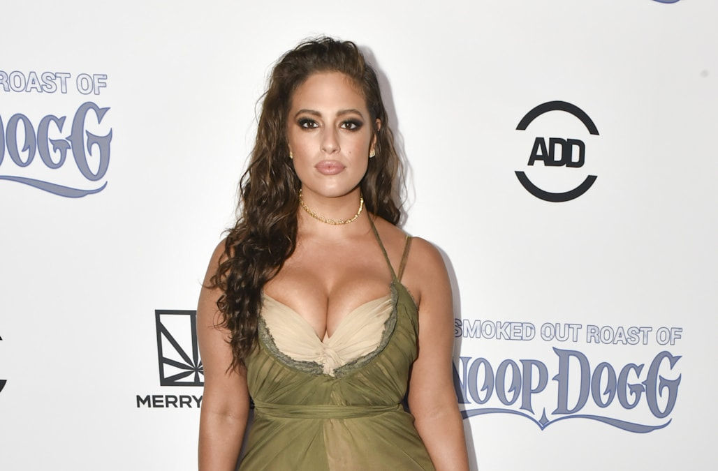 Angel in Waiting: Ashley Graham wants to be first plus-size model ...