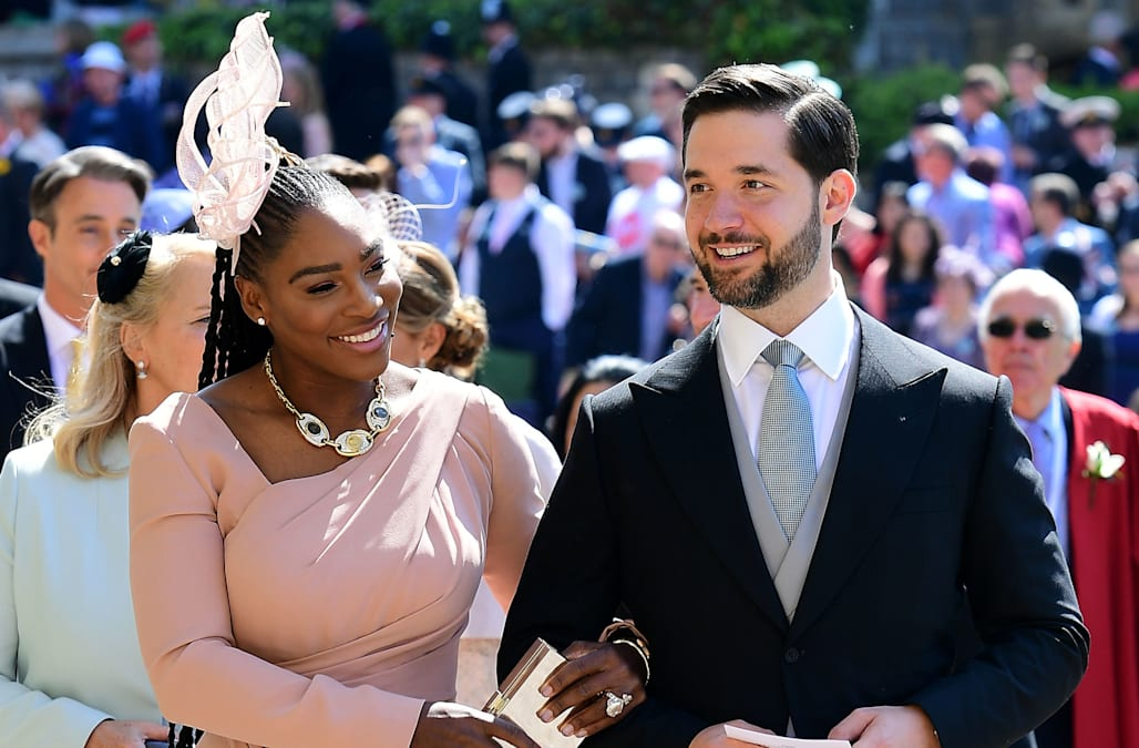 Image Result For Serena Williams Wore Trainers To The Royal Wedding Reception Entertainment News