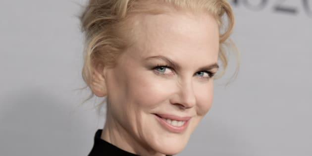 """Nicole Kidman au deuxième gala annuel """"InStyle Awards"""" lundi 24 octobre 2016 à Los Angeles."""