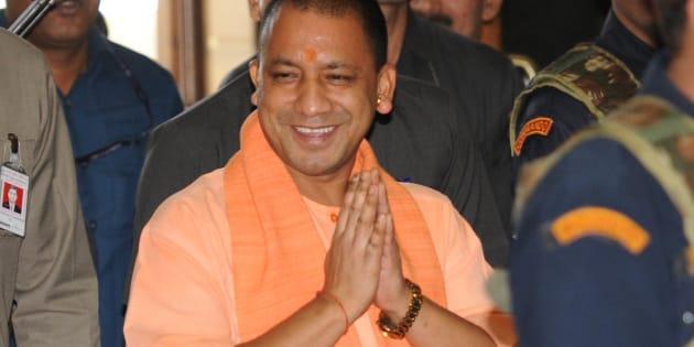 Uttar Pradesh Chief Minister Yogi Adityanath.