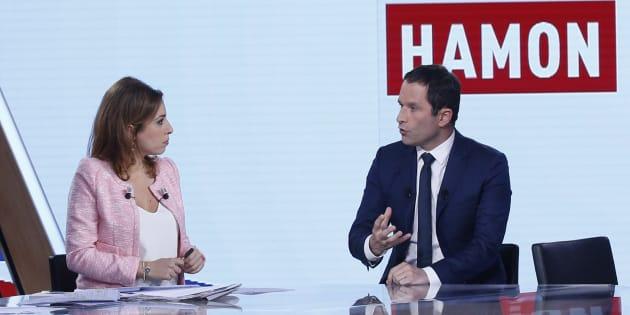 Benoît Hamon, ici sur le plateau à l'automne 2016, est furieux de ne pas être invité à L'Emission politique pour l'anniversaire de l'élection d'Emmanuel Macron.