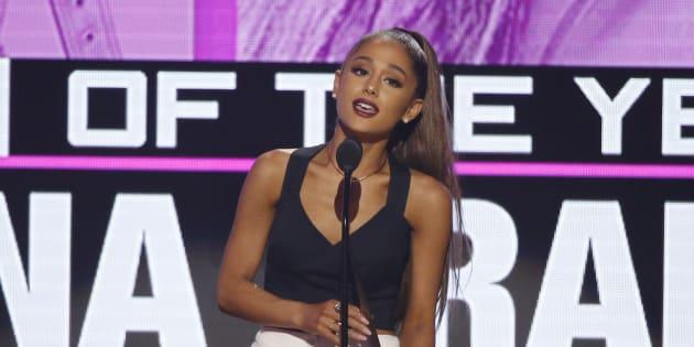 Ariana Grande en concert à Manchester dimanche 4 juin