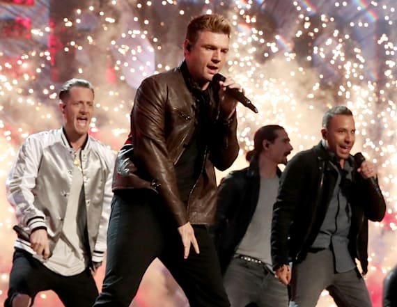 Backstreet Boys bring down the house at ACMs