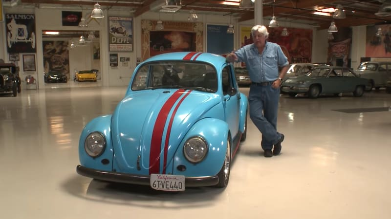 jay leno brings a rotary powered vw beetle to the garage. Black Bedroom Furniture Sets. Home Design Ideas