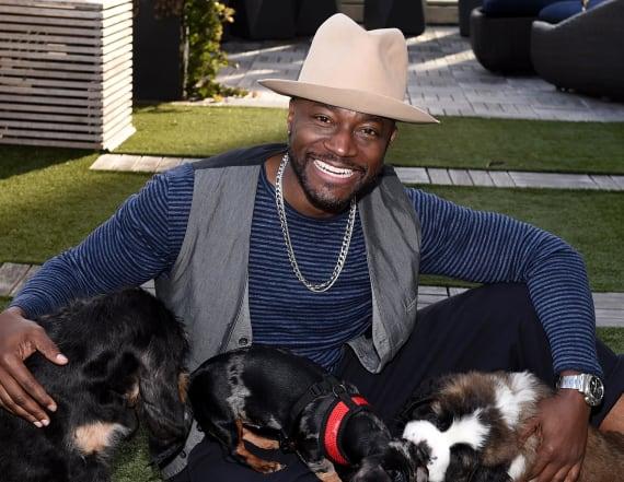 Emotional reason Taye Diggs adopted a pit bull