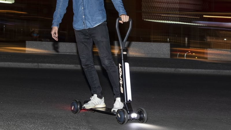 Audi E-Tron scooter announced, could end up as an option for Audis
