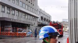 築地市場で火災!? 消防車や消防艇が17台集まり一時騒然 一体何が起きたのか