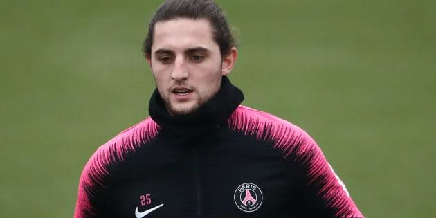 Adrien Rabiot, ici le 23 novembre, a été mis à pied par le PSG.