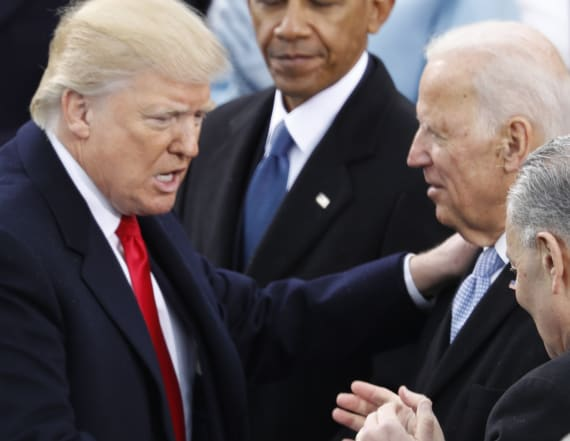Trump: Biden would be my 'dream' opponent in 2020