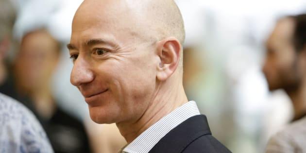 Amazonのファウンダー、ジェフ・ベゾス