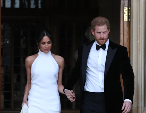 Something blue! Meghan pays tribute to Diana again