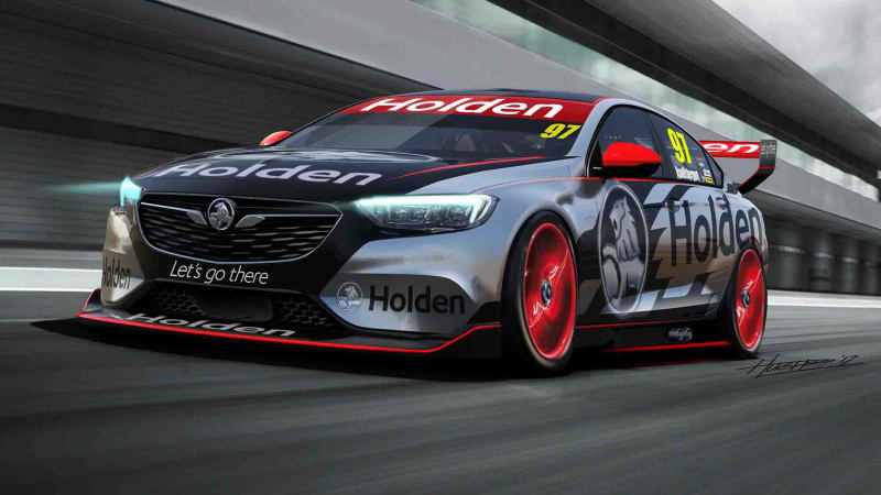 This Holden Commodore V8 Supercar makes the new Buick Regal awesome