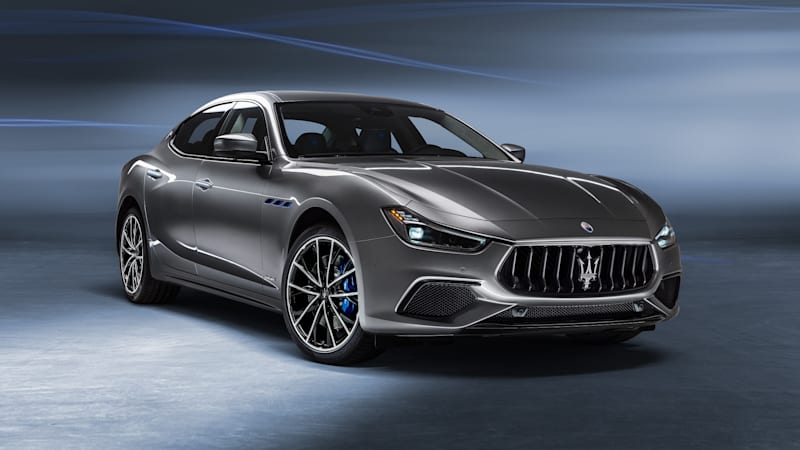 2021 Maserati Ghibli Hybrid introduced with 48-volt mild hybrid tech |  Autoblog