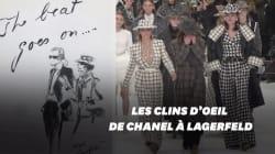 L'hommage de Chanel à Karl Lagerfeld à la Fashion