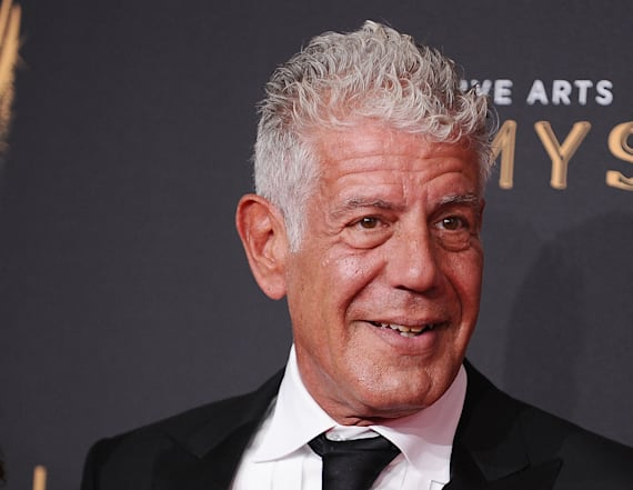 Anthony Bourdain slammed for food quip about Trump