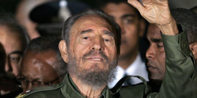 Fidel Castro est mort le 25 novembre 2016 (ici, une photo prise 10 ans plus tôt)