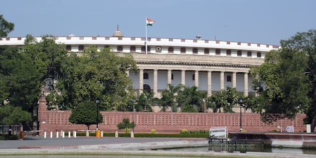 Parliament house, new delhi, india,