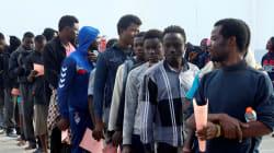Jusqu'à 700 000 migrants africains s'entassent dans des camps en