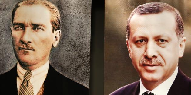 Erdogan se rêve en Atatürk, icône intouchable en Turquie (et symbole... de ses opposants)