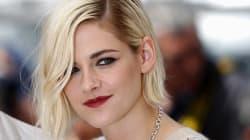 A Kristen Stewart el pelo casi a rape le queda muy