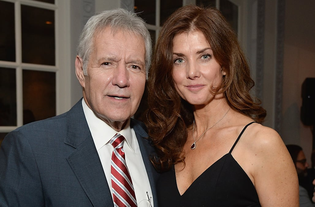 Image result for alex trebek wife
