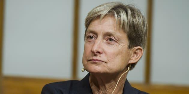 Butler, de 61 anos, é autora de 'Problemas de Gênero' (1990) e de 'Caminhos Divergentes' (2017).