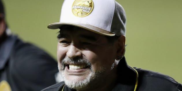 Diego Armando Maradona ha hecho a Dorados el equipo más 'hot' del Ascenso Mx.