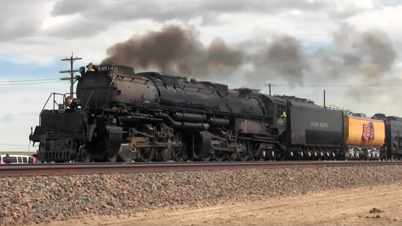 Massive 'Big Boy' locomotive refurbished, headed to