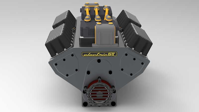 Electric GT returns with an electric crate motor for EV conversions