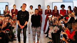 IN PICTURES: Nandi Madida Had All The Fun Showcasing At New York Fashion