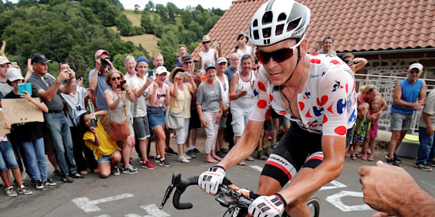 Warren Barguil assuré de remporter le maillot à pois sur le Tour de France sauf accident