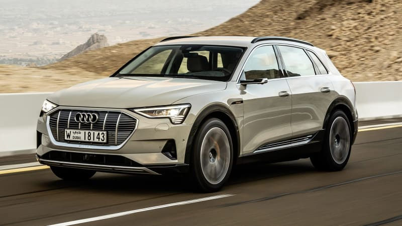 2020 Audi E Tron Electric Crossover Review Autoblog