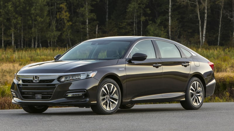 photo image 2018 Honda Accord Hybrid fuel economy revealed, slightly less than old model