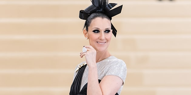 Celine Dion at the Met Gala on May 1, 2017.