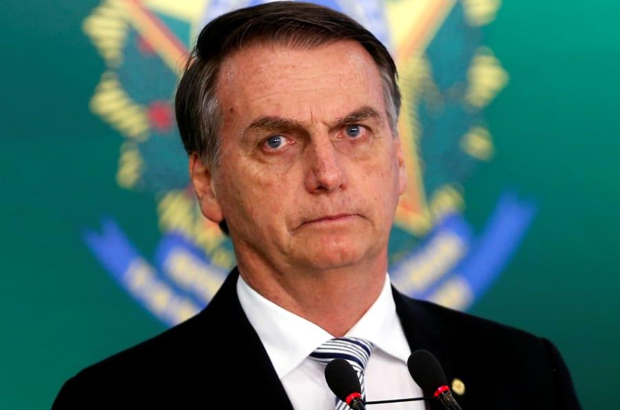 O presidente eleito Jair Bolsonaro (PSL), que tem recuado em declarações e propostas.