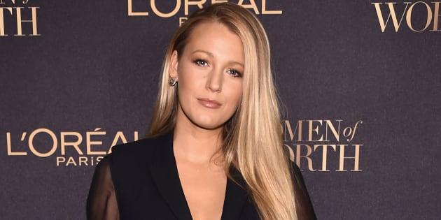 """L'actrice Blake Lively à la soirée """"L'Oreal Paris Women of Worth Celebration 2016"""" le 16 novembre à New York"""