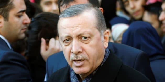 Tayyip Erdogan (illustration)