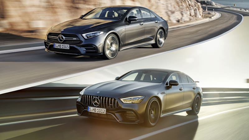 mercedes-amg gt 4-door and cls are similar but different - autoblog