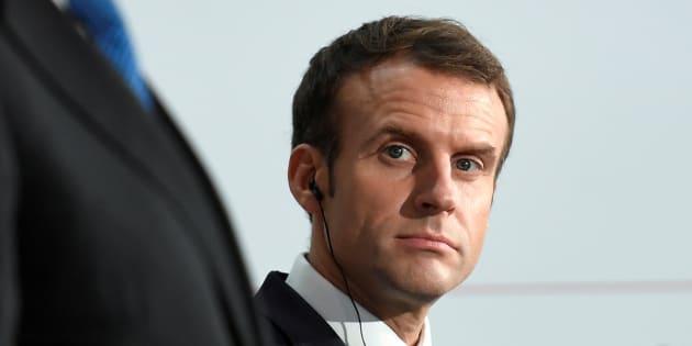 Les lignes rouges de Macron sur les gilets jaunes (photo d'illustration: Emmanuel Macron au Centre Georges Pompidou le 27 novembre)