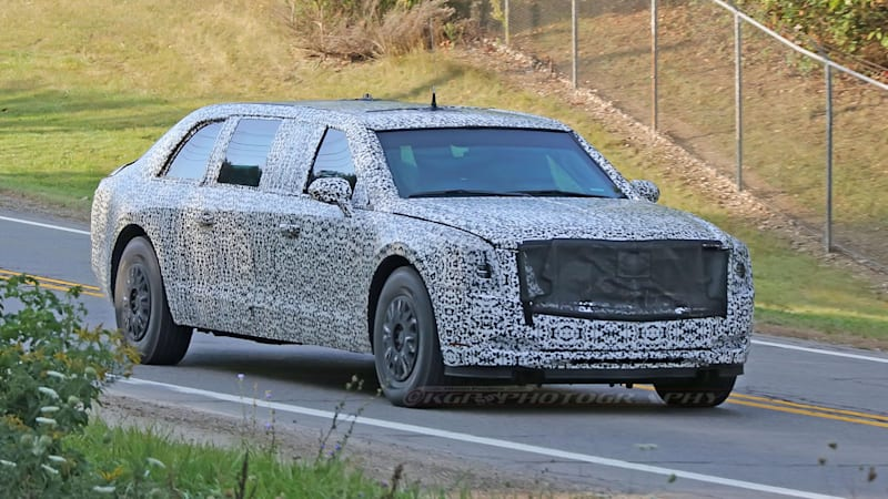 Beast mode on the open road: New presidential limo close to delivery