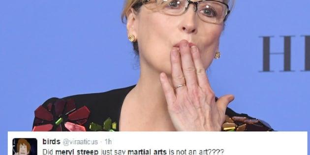 Meryl Streep aux Golden Globes 2017