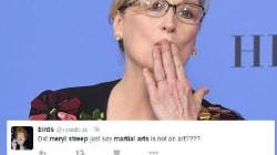 On ne peut pas plaire à tout le monde: Meryl Streep a agacé les fans d'arts